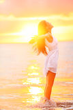 Dreamstime free-woman-enjoying-freedom-feeling-happy-beach-sunset-beautiful-serene-relaxing-pure-happiness-elated-30765286