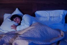 stock-photo-20978276-woman-sleeping-alone-at-night